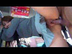 สาวญี่ปุ่นโดนไอ้หื่นข่มขืนบนรถประจำทาง