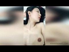 คลิปเสียว xvideos.com พริตตี้สาวนมโต ผิวเนียนชาวจีน โดนผัวเย็ดหีแถมถ่ายคลิปไว้ดูอีกต่างหาก