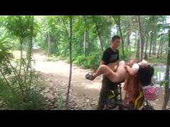 ดูคลิปหลุดจีนxxxx หนุ่มจีนสุดเงี่ยนจับแฟนสาวเย็ดโชว์เพื่อนในสวนจับซอยหีบนรถจักยานเย็ดบนเย็ดล่างมันเลย