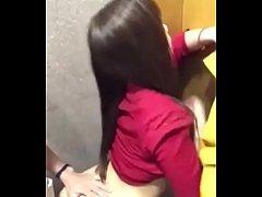xthai คลิปหลุดไทยเย็ดในห้องน้ำออฟฟิต น้องอินสาวบัญชีหีฟิตขี้เงี่ยนชวนมาเย็ดจัดสดแตกในไม่กลัวท้อง