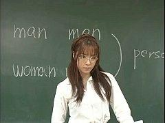 Asian porn คุณครูคนใหม่ทำไมเธอร่านควยอย่างนี้